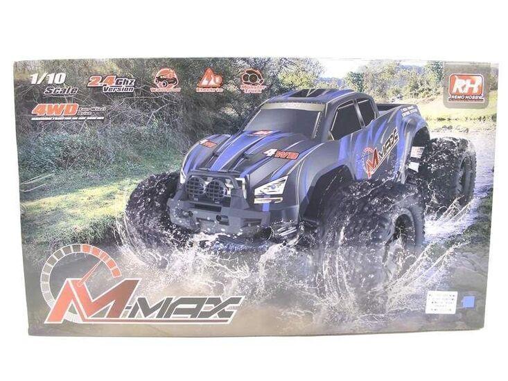 Радиоуправляемый монстр Remo Hobby MMAX PRO UPGRADE 4WD 2.4G 1/10 RTR красный