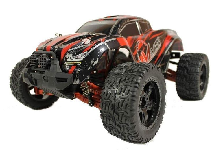 Радиоуправляемый монстр Remo Hobby MMAX Brushless RED UPGRADE 4WD 2.4G 1/10 RTR
