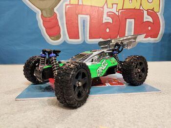 Радиоуправляемая багги Remo Hobby Dingo UPGRADE зеленая 4WD 2.4G 1/16 RTR