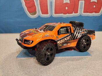 Радиоуправляемый шорт-корс Remo Hobby Rocket Orange Brushless UPGRADE 4WD 2.4G 1/16 RTR