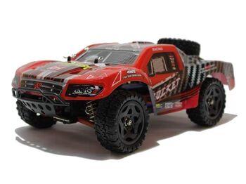 Радиоуправляемый шорт-корс Remo Hobby Rocket Brushless UPGRADE (красный) 4WD 2.4G 1/16 RTR