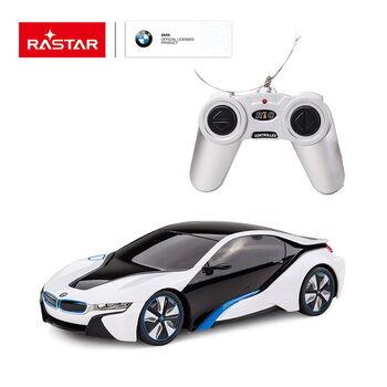 Радиоуправляемая машина Rastar 48400 BMW I8 1:24 Цвет Белый