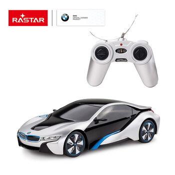 Радиоуправляемая машина Rastar 48400 BMW I8 1:24 Цвет Серебряный