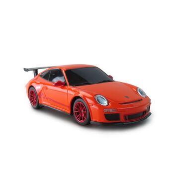Радиоуправляемая машина Rastar 39900 Porsche 911 GT3 RS 1:24, 18см, цвет оранжевый 40MHZ