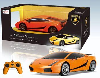 Радиоуправляемая машина Rastar 26300 Lamborghini Superleggera, 18 см 1:24
