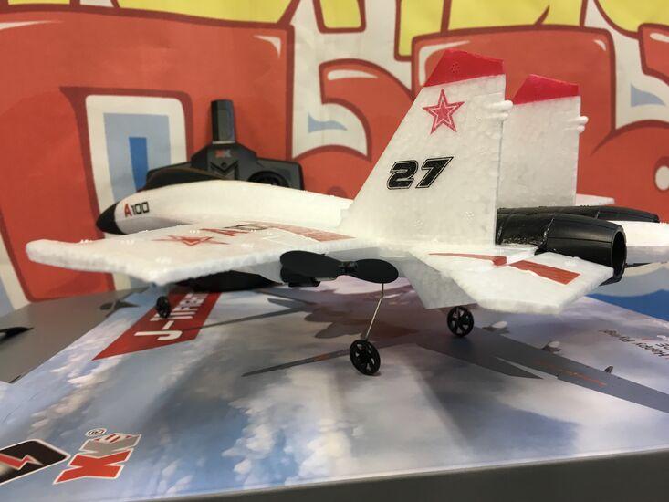 Радиоуправляемый самолет WLToys A100 SU27 White