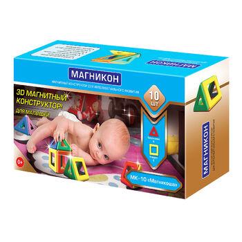 Магнитный констуктор для малышей Магникоша - MK-10