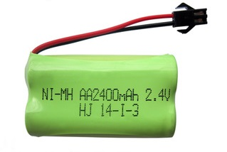 Аккумулятор Ni-Mh 2.4v 2400mah форма Flatpack разъем YP