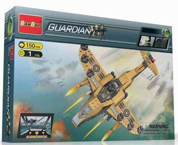 Конструктор Banbao (Банбао) 8237 Военный самолет, 150 деталей