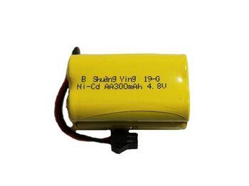 Аккумулятор Ni-Cd 4.8V 300mah форма Row разъем YP