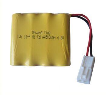 Аккумулятор Ni-Cd 4.8v 500mah форма Flatpack разъем EL-2P