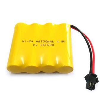 Аккумулятор Ni-Cd AA 4.8v 700mah форма Flatpack разъем YP