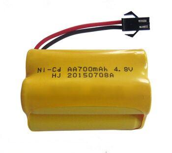 Аккумулятор Ni-Cd AA 4.8v 700mah форма Row разъем YP