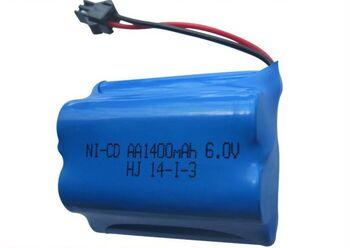 Аккумулятор Ni-Cd 6v 1400mah форма Offset разъем YP