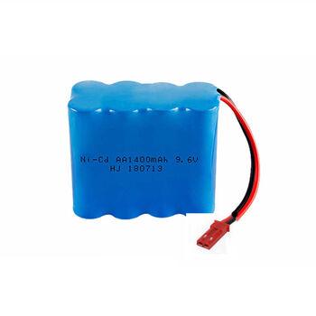 Аккумулятор Ni-Cd AA 9.6v 1400mah форма Row разъем JST