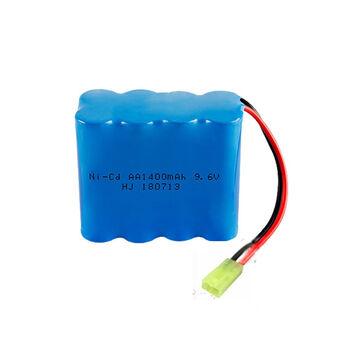 Аккумулятор Ni-Cd AA 9.6v 1400mah форма Row разъем MINITAMIYA