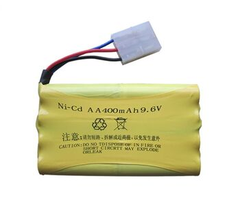Аккумулятор Ni-Cd 9.6v 400mah форма Column-Row разъем Tamiya3