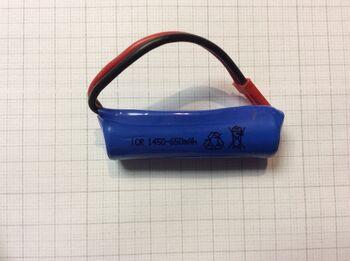 Аккумулятор 14500 Li-ion 3.7v 650mah ICR разъем JST
