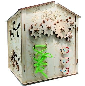 Конструктор из дерева развивающий Хэппи БизиДом