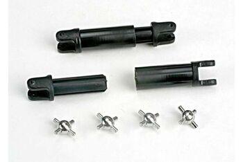 Half-shafts (internal-splined (2)/external-splined (2))/ metal U-joints (4)