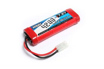 Аккумулятор nVision Ni-Mh 7.2V(6s) 4200mAh  Tamiya Plug 14 AWG