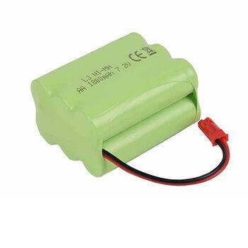 Аккумулятор Ni-Mh AA 7.2v 1800mah форма Row разъем JST