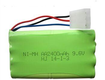Аккумулятор Ni-Mh 9.6v 2400mah форма Column-Row разъем Tamiya3