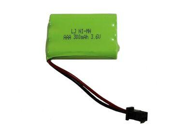 Аккумулятор Ni-Mh AAA 3.6v 300mah форма Flatpack разъем YP