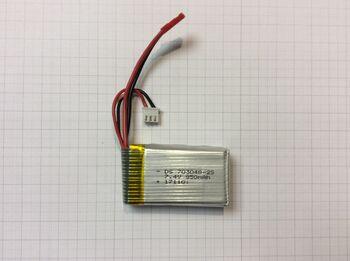 Аккумулятор Li-Po 7.4v 850mah формат 703048 разъем JST