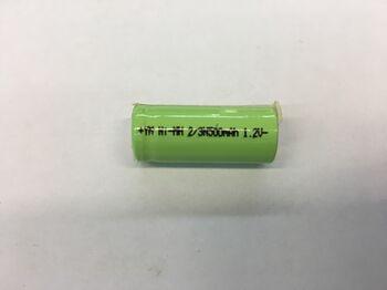 Аккумулятор Ni-Mh 2/3 N 1.2v 500mah (1 шт)
