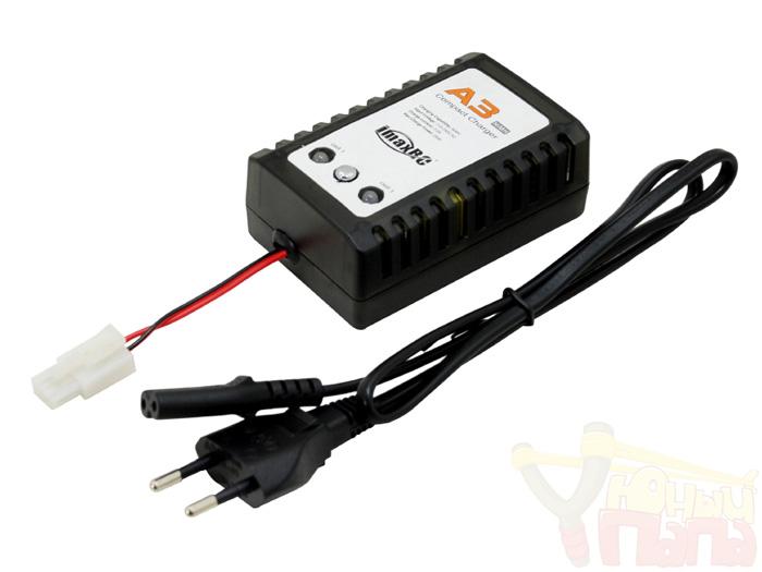Зарядное устройство iMaxRC A3 для NiCD и NiMh аккумуляторов - ток зарядки 2A (разъем TAMIYA)