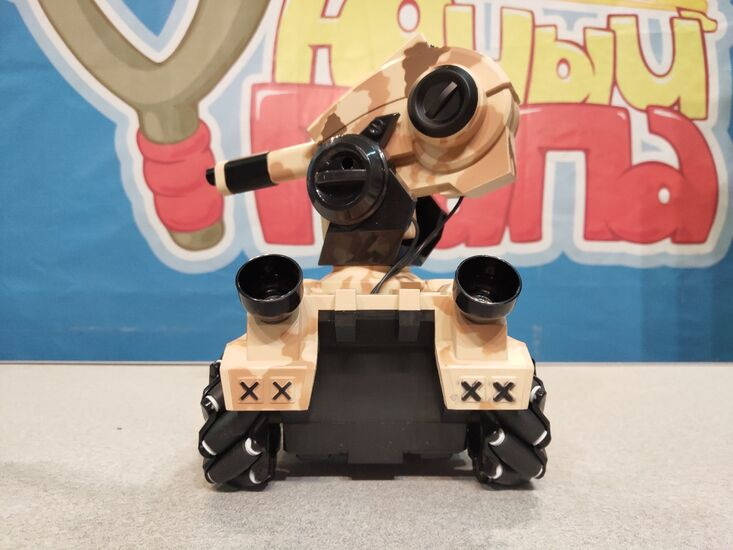 Танк-робот MX RoboMaster (3D дрифт, стреляет гелевыми пулями)