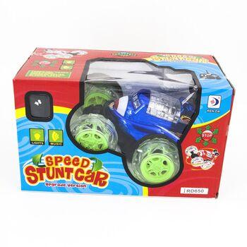 Радиоуправляемая трюковая синяя машинка-перевертыш - RD650-B