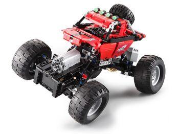 Радиуоправляемый конструктор CADA deTech Off-Road Crawler (489 деталей)