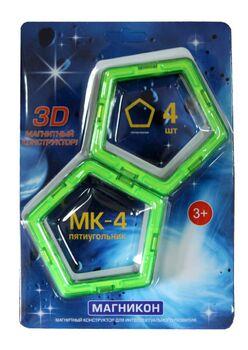 Набор элементов пятиугольники МАГНИКОН МК-4-5У