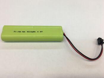 Аккумулятор Ni-Mh AA 4.8v 1500mah форма Twinstick разъем YP