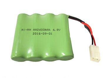 Аккумулятор Ni-Mh AA 4.8v 2400mah форма Flatpack разъем TAMIYA
