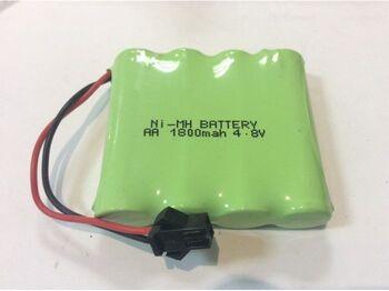 Аккумулятор Ni-Mh 4.8v 1800mah форма Flatpack разъем YP