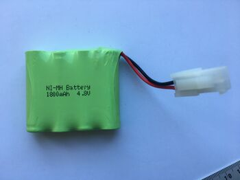 Аккумулятор Ni-Mh 4.8v 1800mah форма Flatpack разъем 5559-2P