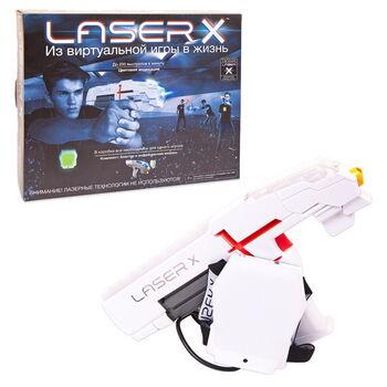 Набор игровой Laser X (1 бластер, 1 мишень)