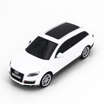 Радиоуправляемая машина Rastar 27300 AUDI Q7 White 1:24 цвет белый 27MHZ