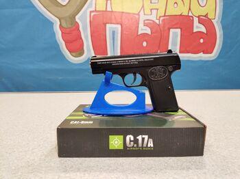 Детский пистолет металлический Browning C.17A калибр 6мм