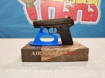 Детский пистолет металлический Браунинг K.17D калибр 6мм