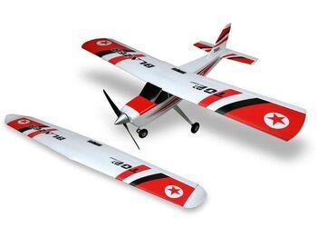 Радиоуправляемый самолет Top RC Blazer 1280мм/1200мм (2 крыла) 2.4G 4-ch LiPo RTF