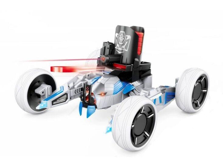 Р/У боевая машина Universe Chariot, лазер, диски, голубая, Ni-Mh и З/У, 2.4G