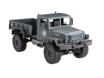 Радиоуправляемая машина WPL военный грузовик (серый) 1/16+акб 2.4G RTR