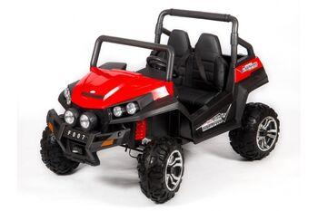 Двухместный полноприводный электромобиль Red Buggy 12V 2.4G - S2588