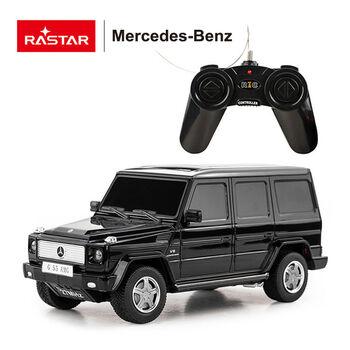 Радиоуправляемая машина RASTAR 30500 Mercedes G55 AMG 1:24 Цвет Черный
