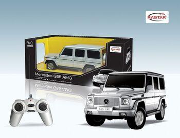 Радиоуправляемая машина RASTAR 30500 Mercedes G55 AMG 1:24