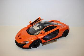 Радиоуправляемая машина Rastar 75110 McLaren P1 1:14, цвет оранжевый 40MHZ